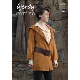 TRW5811 Ladies Jacket Wendy Merino DK