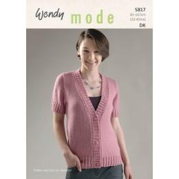 TRW5817 Ladies Cardigan Wendy Mode DK