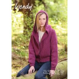TRW5822 Adult Hooded Cardigan Wendy Aspire Chunky