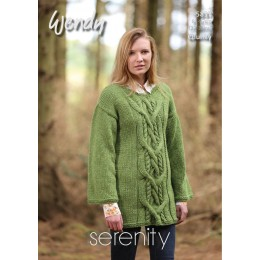 TRW5837 Adult Cable Jumper Wendy Serenity Chunky
