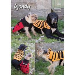 TRW5855 Dog Coats Chunky