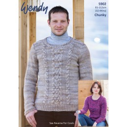 TRW5902 Adult Jumpers Wendy Evolve Chunky