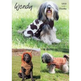 TRW5959 Dog Coats Chunky
