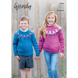 TRW5960 Children's Jumpers Chunky