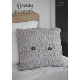 TRW6058 Cushion in Wendy Purity