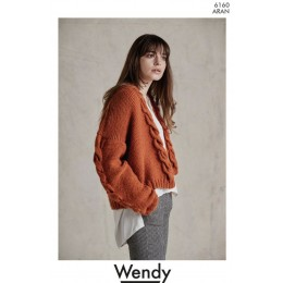 TRW6160 Ladies Long & Short Coats in Wendy Aran with Wool