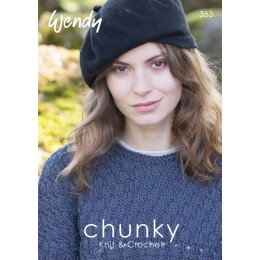W363 Chunky Knit and Crochet