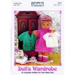 W614 Dolls Wardrobe