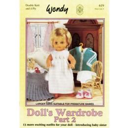 W619 Dolls Wardrobe Part 2