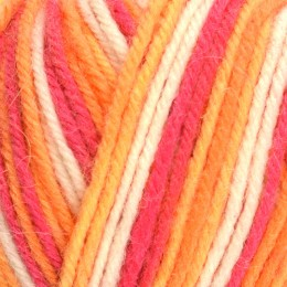 West Yorkshire Spinners Aire Valley Cocktails DK 100g Tequila Sunrise 856