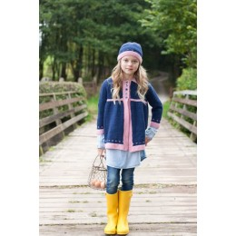 WYS Fair Isle Border Coat and Hat