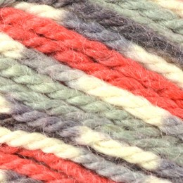 West Yorkshire Spinners Blue Faced Leicester Printed Aran 100g Bullfinch 861