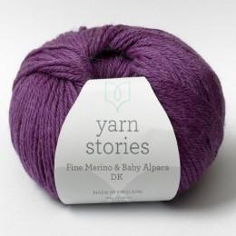 Yarn Stories Fine Merino & Baby Alpaca DK 50g Thistle 2518