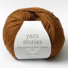 Yarn Stories Fine Merino & Baby Alpaca DK 50g Toffee 2519