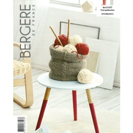 Bergere de France Basket in Recyclaine Leaflet 97