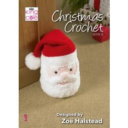 King Cole Christmas Crochet Book 6