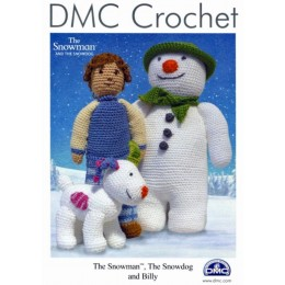 DMC Crochet - The Snowman, The Snowdog & Billy