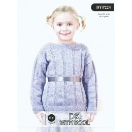 DYP224 Children's Jumper DK with Wool