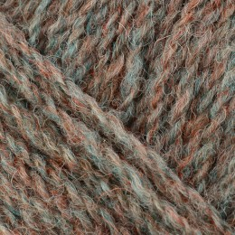 Jamieson and Smith 2ply Jumper Weight 4Ply 25g Brown FC64