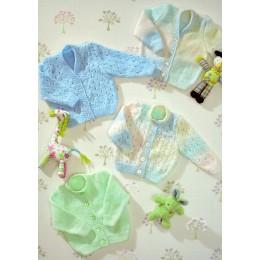 JB25 Baby Cardigans DK