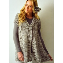 JB118 Ladies Swing Cardigan Chunky