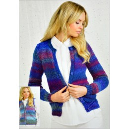JB247 Ladies Cardigan and Waistcoat Chunky