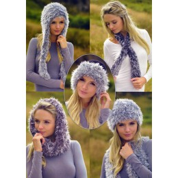 JB251 Ladies Scarves and Hats Chunky