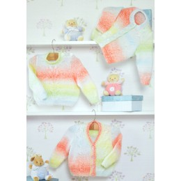 JB285 Baby Cardigans and Jumper DK