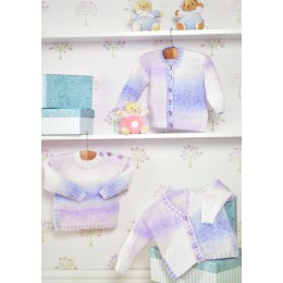 JB286 Baby Cardigans and Jumper DK