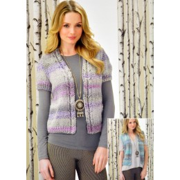 JB290 Ladies Cardigan and Waistcoat Chunky
