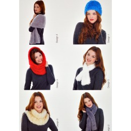 JB300 Ladies Scarves and Hats Wildcat Chunky
