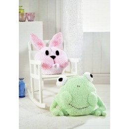 JB303 Animal Cushions Fluffy Chunky