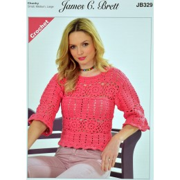 JB329 Ladies Jumper Noodles Chunky