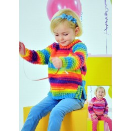 JB340 Children's Jumpers Party Time Chunky