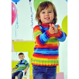 JB341 Children's Jumpers Party Time Chunky