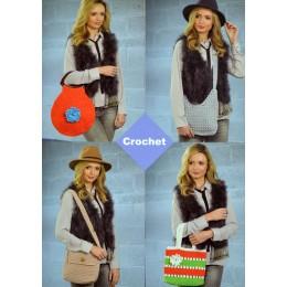 JB362 Crocheted Bags Chunky