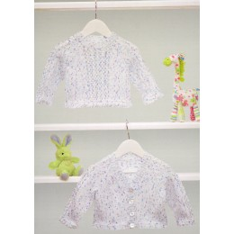 JB372 Baby Cardigan and Jumper DK