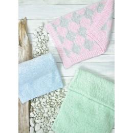 JB695 Baby Blankets in James C Brett Baby Velvet Chunky