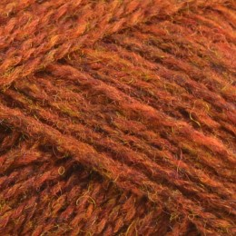Jamieson and Smith 2ply Jumper Weight 4Ply 25g Brown FC38