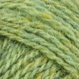 Jamieson and Smith 2ply Jumper Weight 4Ply 25g Green FC24