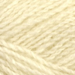 Jamieson and Smith 2ply Lace 25g White 1