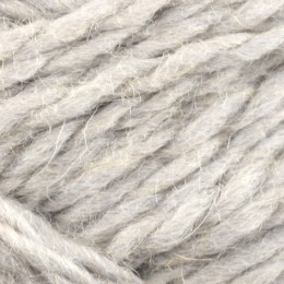 Jamieson and Smith Shetland Aran Worsted 50g Silver Grey 5