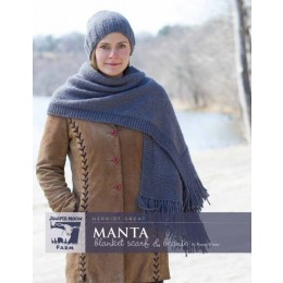 J41-01 Manta Blanket Scarf and Beanie for Women in Herriot Great
