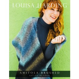 L17-12 Acadia Shawl in Louisa Harding Amitola Brushed