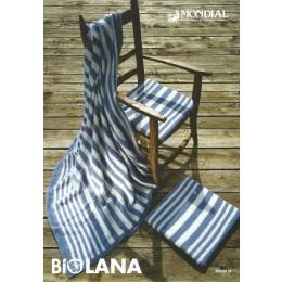 MON018 Blanket in Mondial Bio Lana
