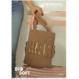 MON030 Crochet Market Bag in Bio Soft