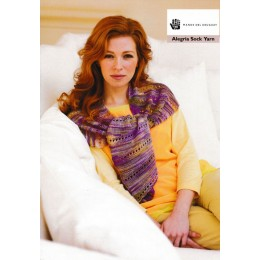 Manos Del Uruguay Alegria Sock Yarn Pattern Book