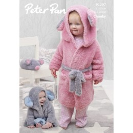 P1297 Dressing Gowns & Mouse in Peter Pan Precious Chunky