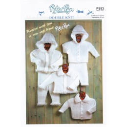 P893 Baby Jacket & Trouser Sets in DK