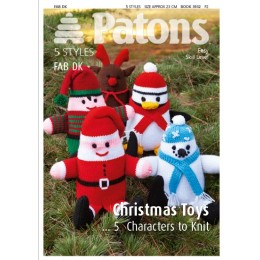 Patons 3932 DK Christmas Toys